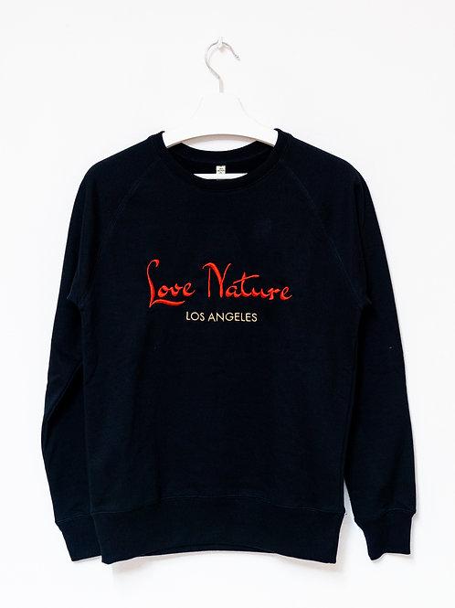 LOVE NATURE 100% recycled Sweatshirt UNISEX