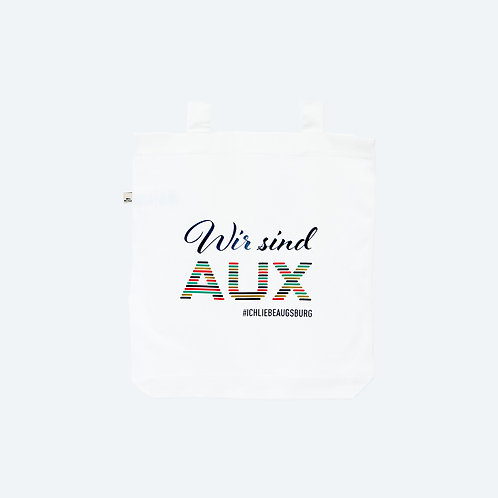 WIR SIND AUX Special Edition 100% recycled Tasche