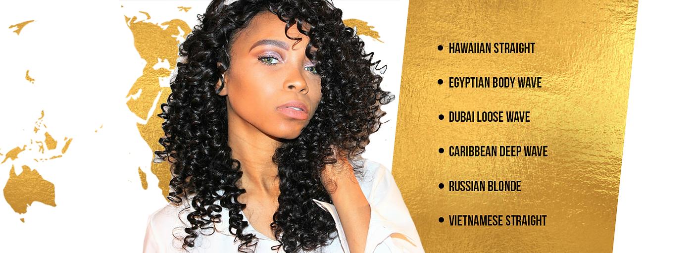 Passport Model Luxury Hair Extensions