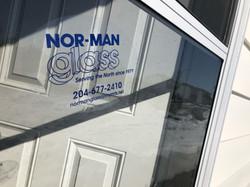 Nor-Man Glass Window Clings