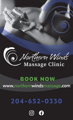 Northern Wings Massage Clinic Signage