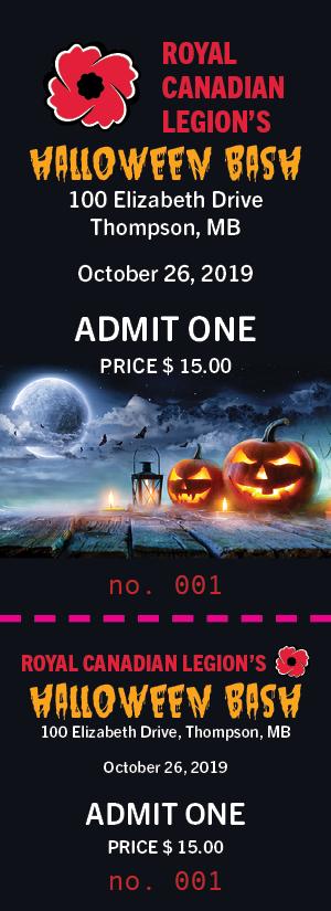 Legion Halloween Ticket 2019