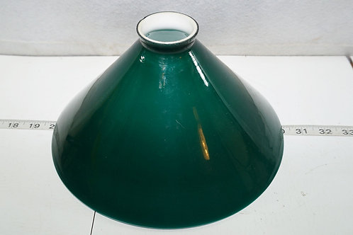 Green Cased Glass Shade