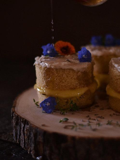 Lemon Lavender mini cakes