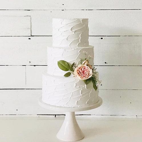 "Three Tier Palette Finish Fake Cake 6"" 8"" 10"""
