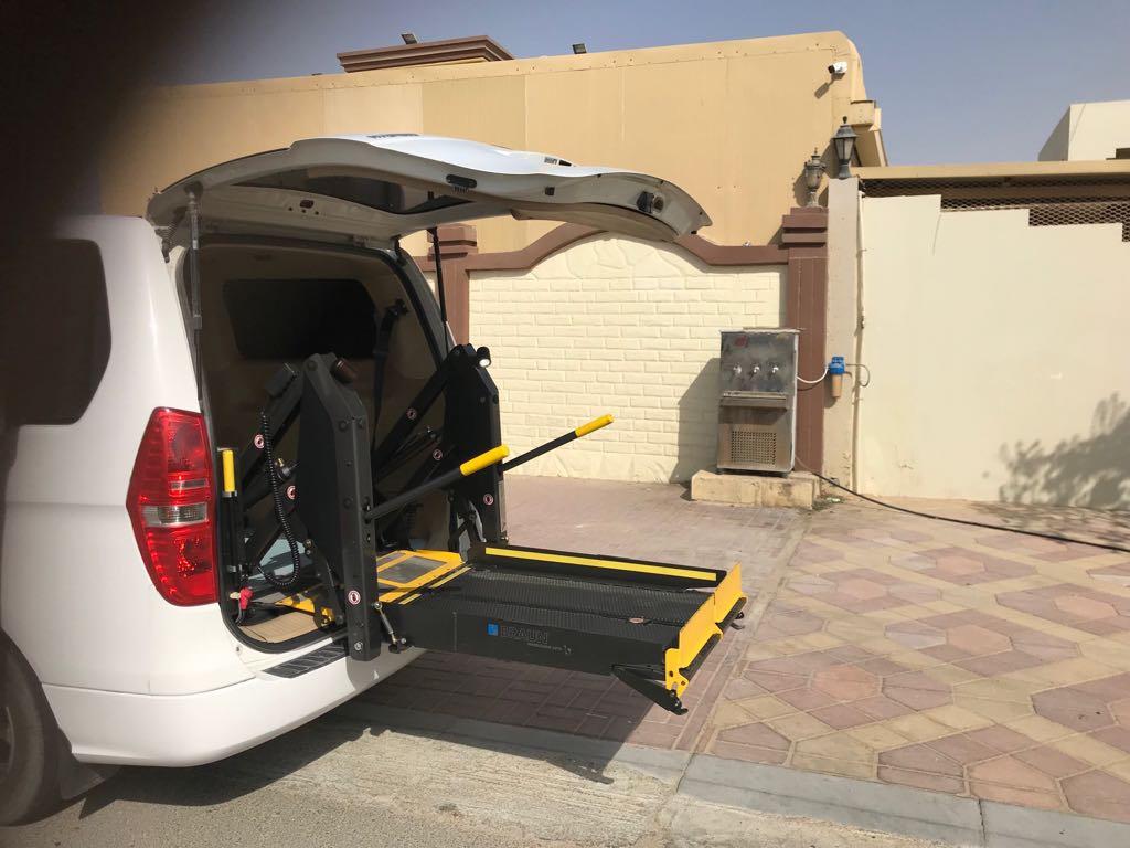 Wheelchair Accessible Car Hyundai H1