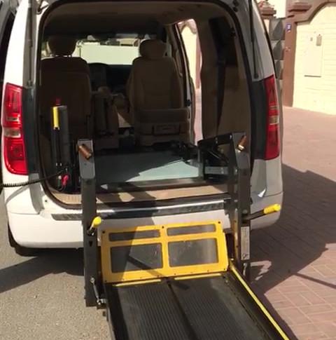 Hyundai H1 with Wheelchair Accessible Lift
