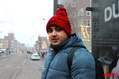 Mohammad in Amsterdam