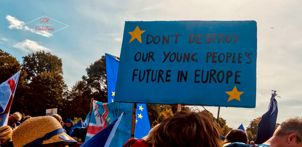 """""""Don't Destroy Our Young People's Future in Europe"""""""