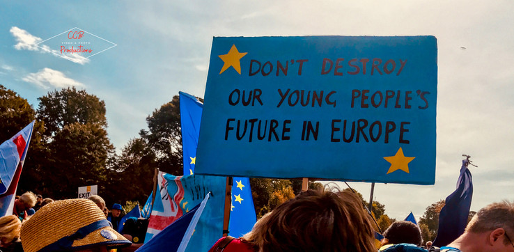 """Don't Destroy Our Young People's Future in Europe"""