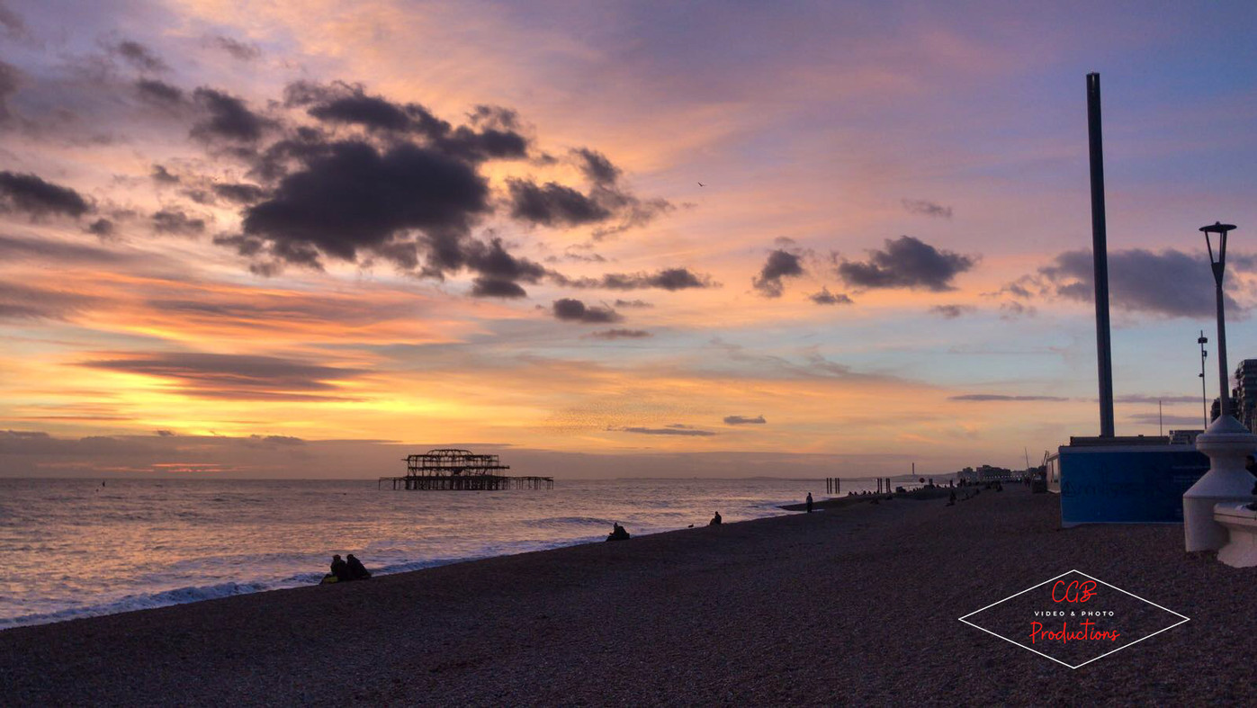Funky Sunset in Hove
