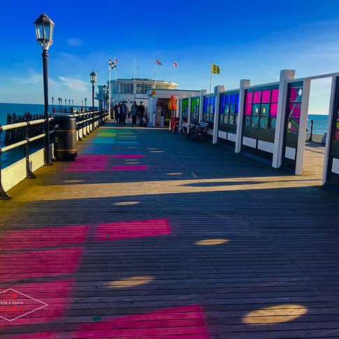 Worthing Pier Colours