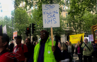 """Stop Killing our NHS"""