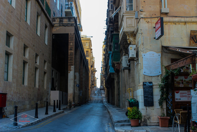Maltease Streets, Valetta
