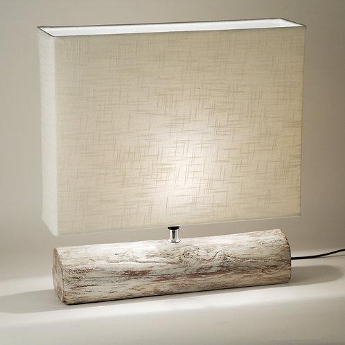 Resin Log Lamp