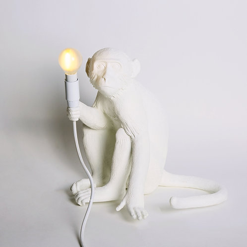 Siting Monkey Lamp