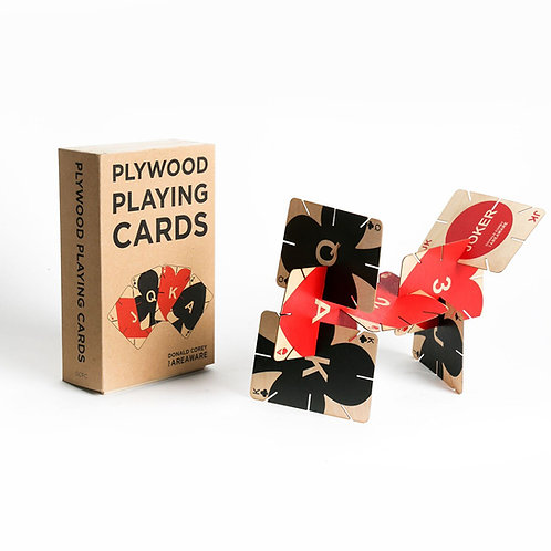 Plywood Playing Cards