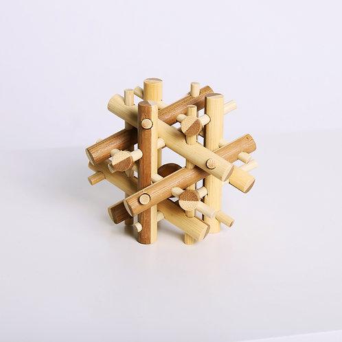 Brainteaser Bamboo Puzzle