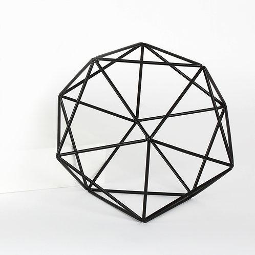 Polygon Iron Frame Decor Ball