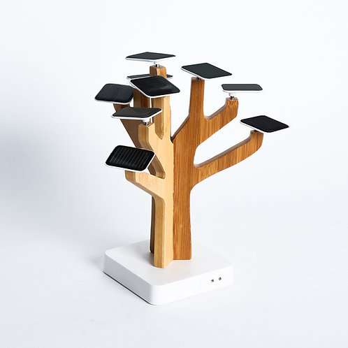 Wooden Tree Solar Phone Charger