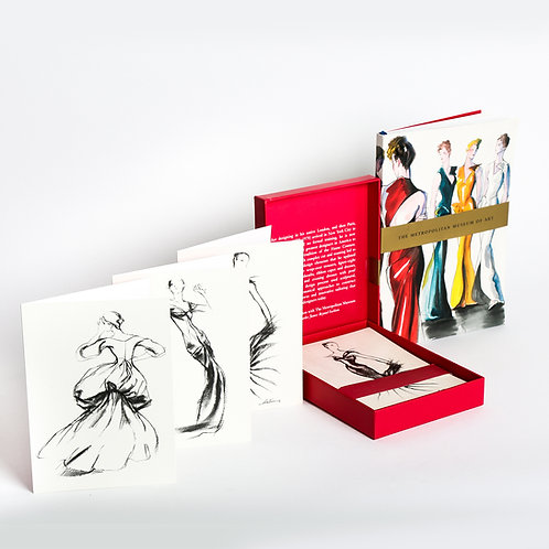 Charles James Beyond Fashion Notecards
