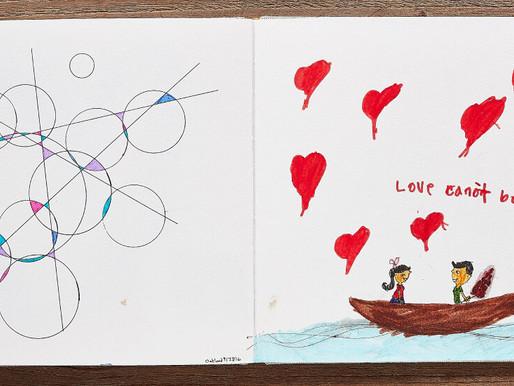 En la misma página: el divorcio, el dibujo y la crianza de una niña autista