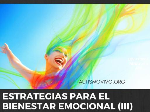 Estrategias para el bienestar emocional (III)