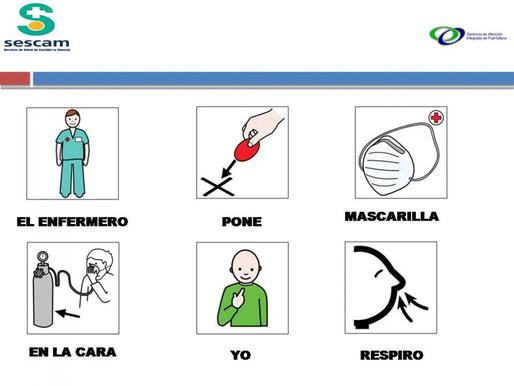 Usando CAA en hospitales durante el coronavirus