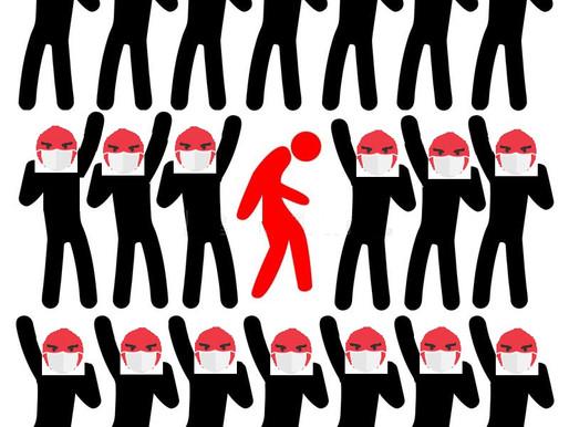 La segregación y exclusión de la mascarilla