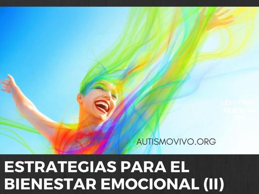 Estrategias para el bienestar emocional (II)