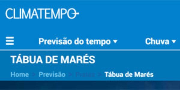 TÁBUA DE MARÉS