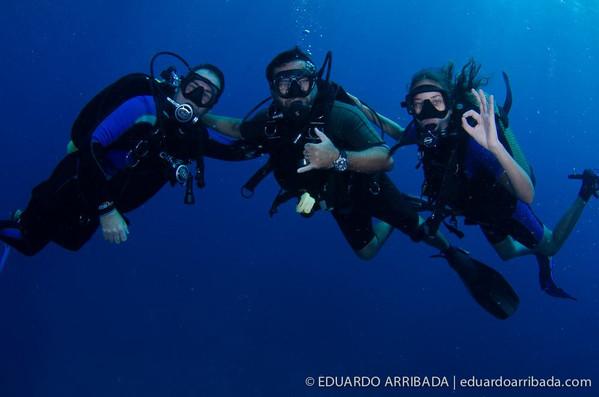 Mergulho na Costa Paraibana.
