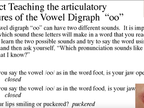 """How To Build Lesson Plans Part II Featuring the Vowel Digraph """"oo"""""""