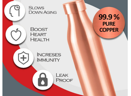 Milton Copper Charge Bottle, 960 ml