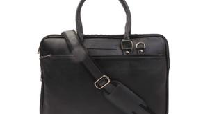 Handmade Leather Unisex Laptop Bag For Office