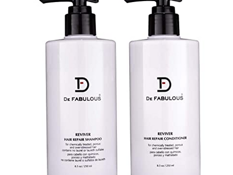 DE Hair Repair Shampoo & Conditioner
