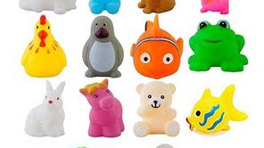 Colorful Animal Shape Baby Bath Toy