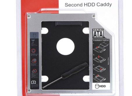 Optical Bay 2nd Hard Drive Caddy