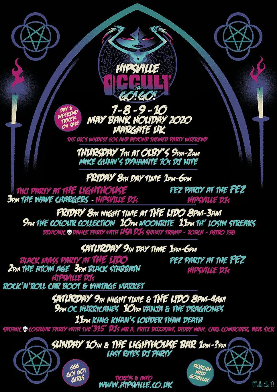 Hipsville Occult A Go Go