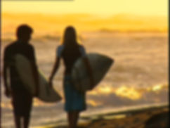 Couple Surf and Stay Weekend, romantic getaway