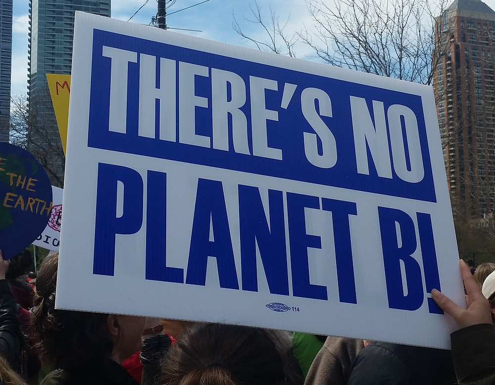 There's No Planet B - Chicago March for Science 2017