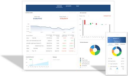 Advyzon Client Portal Mobile & Desktop.P