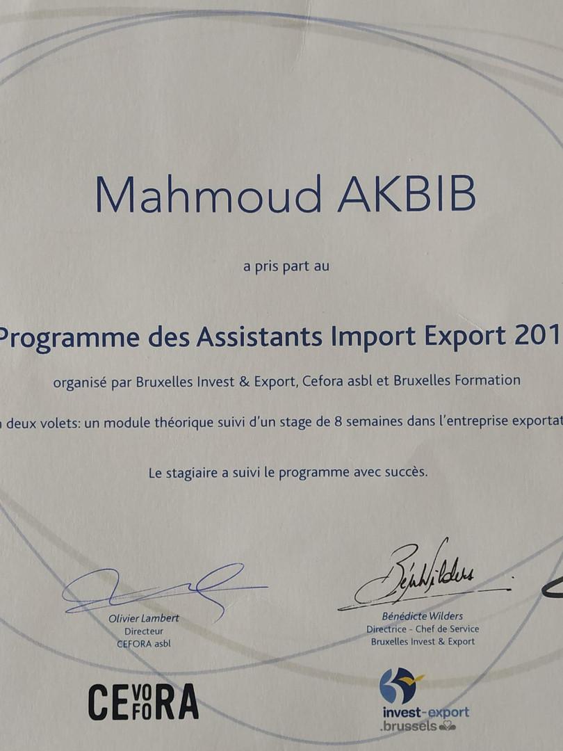 Agent Import Export