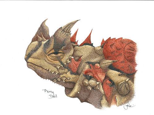 Thorny Devil Print