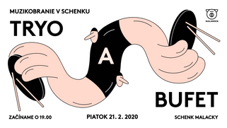 Muzikobranie, illustrated poster, 2020