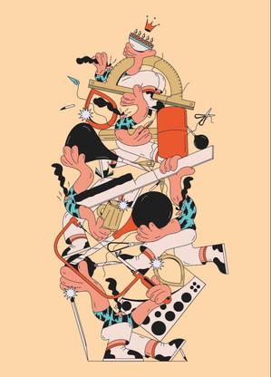 Crafts, gicleé print, 2020
