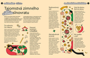 Secrets of Cristmas, editorial illustration, 2020