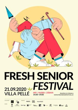 Fresh senior festival 2020, poster illustration, 2020