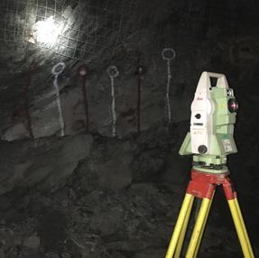 arpentage souterrain