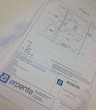 Certificat de localisation